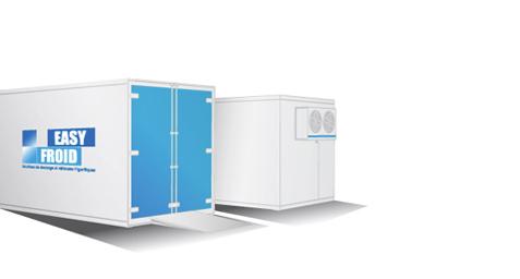 caisse frigorifique E10CF 4 palettes 11m³ location
