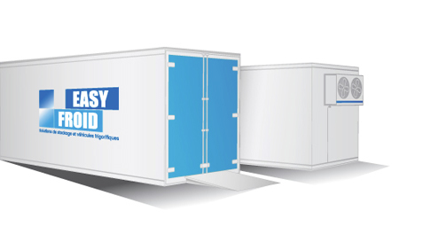 caisse frigorifique E25CF 10 palettes 25m³ location