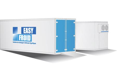 caisse frigorifique E55CF 22 palettes 56m³ location