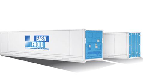 container frigorifique E63 23 palettes 63m³ location