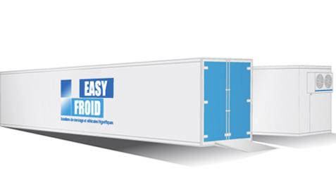caisse frigorifique E85CF 32 palettes 86m³ location